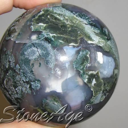 ספרה (כדור) של אגת מוס. מהאתר של החנות סטונאייג'  www.stoneage.co.il צילום: שני תודר photo: Shani Toder