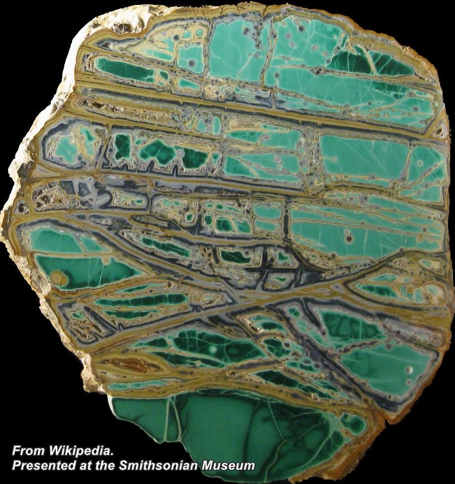"""ווריסייט. פריט המוצג במוזיאון הסמיתסוניאני. נלקח ברשות מ""""ויקיפדיה"""" From Wikipedia Commons. Photo by Rob Lavinsky"""