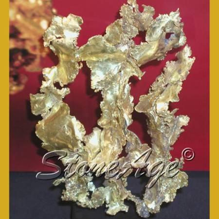 זהב בהתגבשות. מהאתר של סטונאייג www.stoneage.co.il  צילום: שני תודר photo: Shani Toder