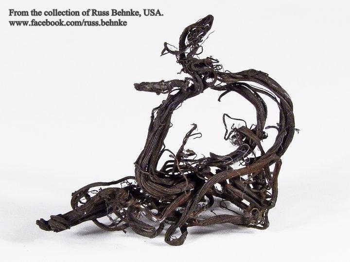 מתכת כסף גולמית. פריט אספנות. מהאוסף של ראס בהנק האמריקאי. From the collection of Russ Behnke, USA