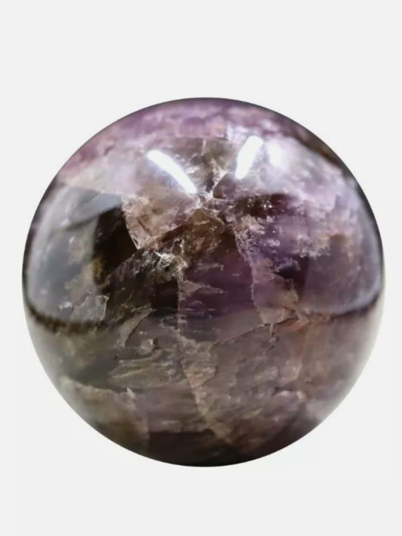 כדור קקוקסנייט יפהפה משולבת באמטיסט. תודה לסיון דוידוביץ'. Thank you Sivan Davidovich