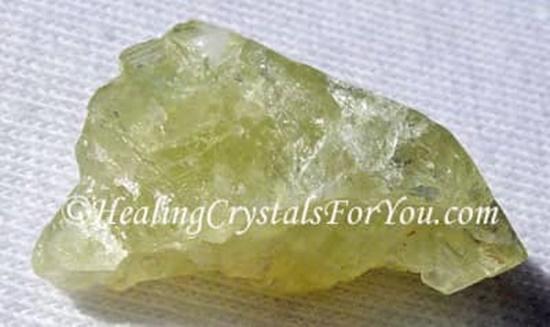 ברזיליאנייט צהובה. לקח ברשות מהאתר   Taken with courtesy from www.healing-crystals-for-you.com