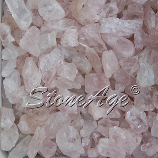 חלוקי מורגנייט גולמית. מהאתר של החנות סטונאייג'  www.stoneage.co.il צילום: שני תודר photo: Shani Toder