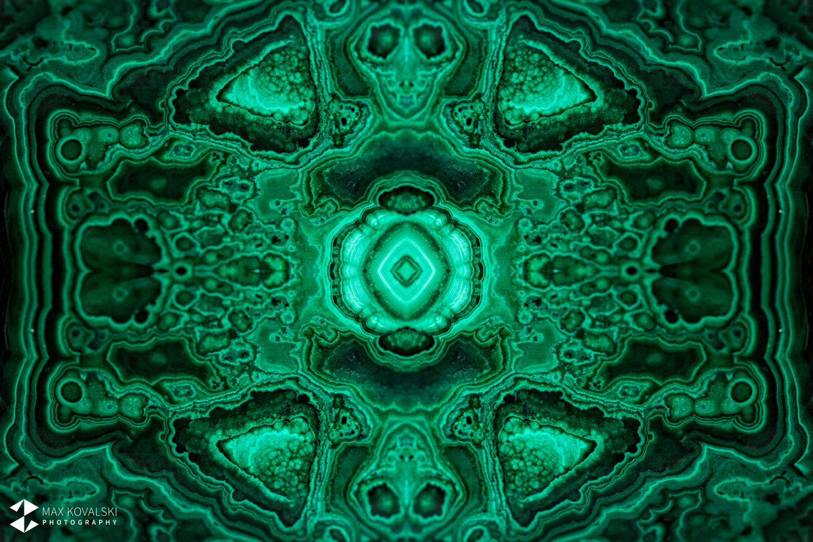 קולאז' של מלאכיט. עיצוב וצילום: מקס קובלסקי Photo by Max Kovalski www.maxkov.com
