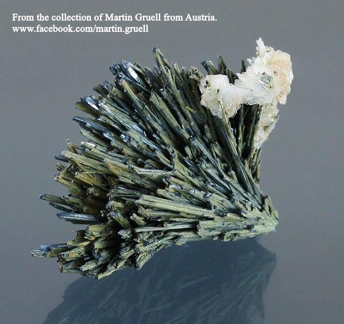 מושבה יפהפיה של סטיבנייט ממכרה ברומניה. מהאוסף של מרטין גרול מאוסטריה. From the collection of Martin Gruell from Austria