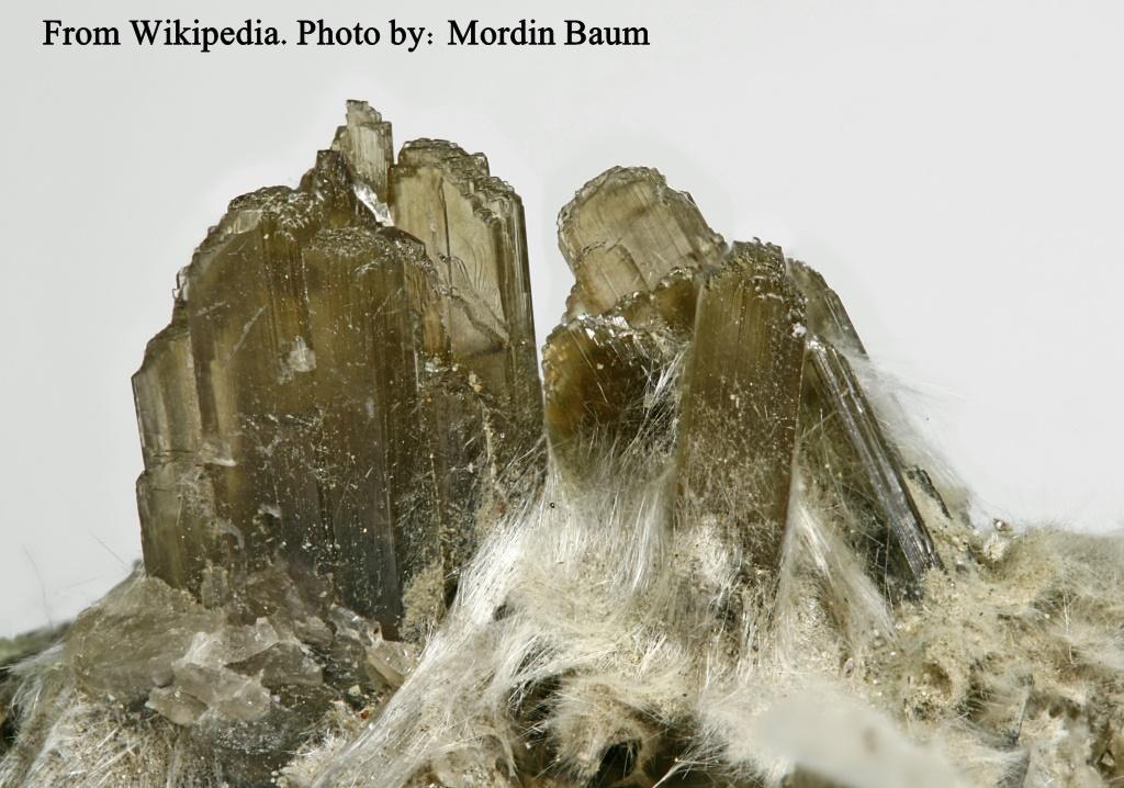 """מושבה של קלינוזויסייט בצבע חום שקוף. נלקח ברשות מ""""ויקיפדיה"""" From Wikipedia Commons Photo by: Mordin Baum"""